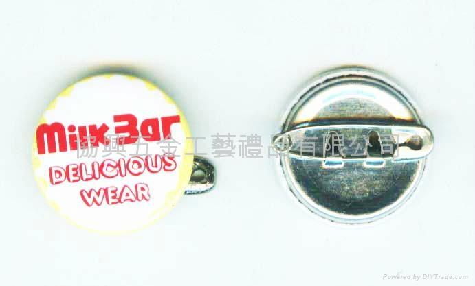 Metal Square Lapel Pins 3