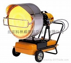 Infrared oil heaters