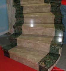 nature granite stairs