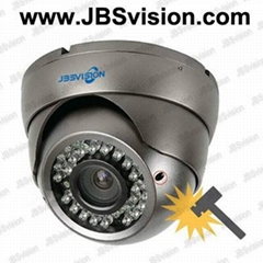 Effio 700TVL Vandalproof IR Dome security cameras from JBSvision