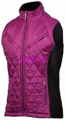 Women quilt vest