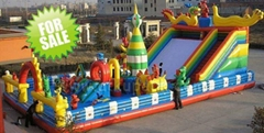 Inflatable Dragon Slide