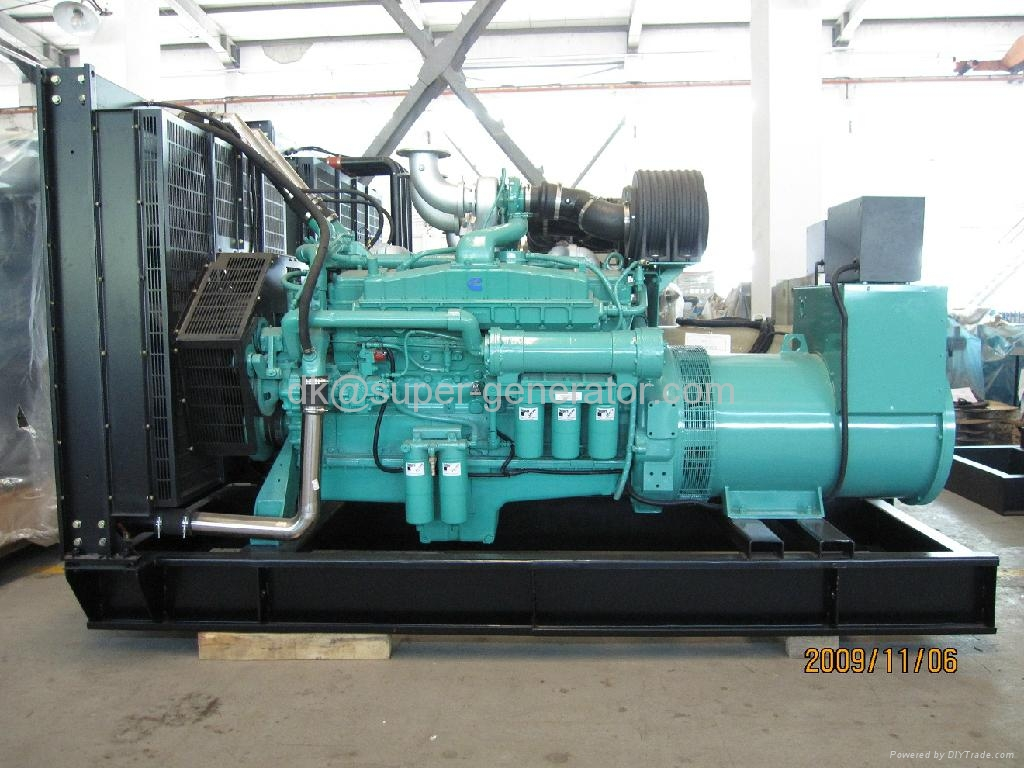 diesel generator 1250KVA 1000kw Cummins generators KTA38-G4-60Hz  1