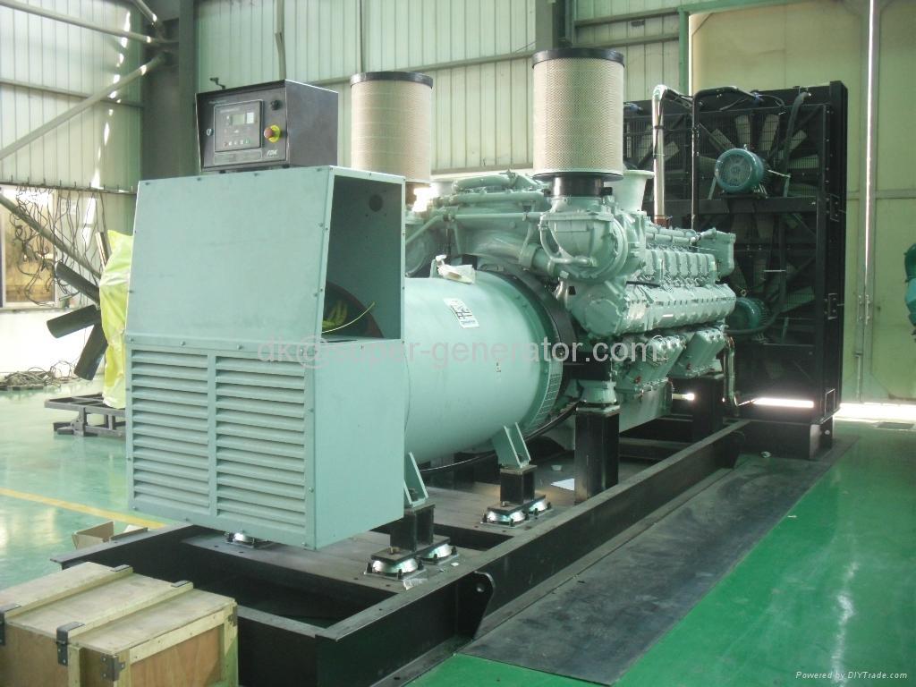 MTU diesel Generator Set generator 2000KW 50HZ 60hz  1
