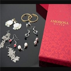 久力珠寶意大利AMOROSA耳環八件套