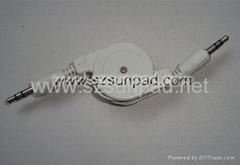 3.5mm PLUG to 3.5mm PLUS