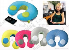 Massage Pillow ,Neck Music Pillows-Manufacturing