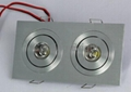LED downlight (1*1W, 2*1W, 3*1W, 4*1W