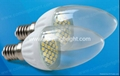1.5W smd LED Candle Light with Ceramic body E14 1