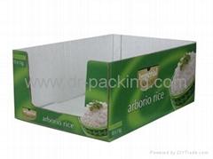 Corrugated Cardboard Display Carton