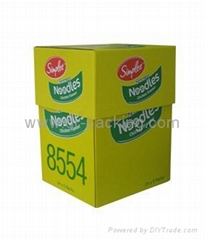 Corrugated Carton with offset printing available