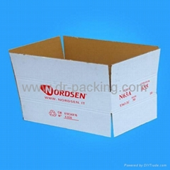 Popular White Corrugated Carton Boxes