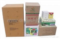 Customized Flexo Print Corrugated Paper Packaging Carton