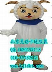 出售北京灵动卡通服装动漫人偶服装喜羊羊