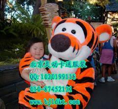 出售北京灵动卡通服装,毛绒人偶服装,跳跳虎