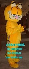 出售北京灵动卡通服装,毛绒人偶服装,加菲猫