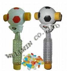 Football candy toys