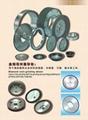 Diamond resin grinding wheel