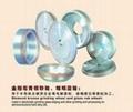 Diamond bronze grinding wheel and glass rub wheel