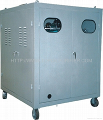 Turbine lube oil dehydration machine
