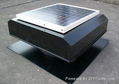 Economic  solar attic fan