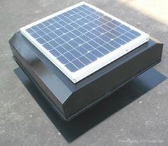 Solar Attic Fan 20W round type