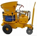 GZ-5 gunning machine/shotcrete machine/gunite machine/spraying concrete machine