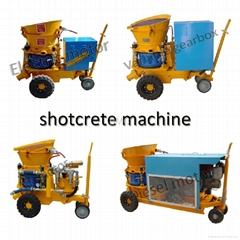 GZ-5 use for tunneling with electric motor shotcrete machine