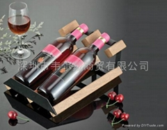 2瓶裝組裝式紅酒架