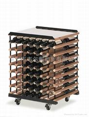 112瓶装红酒品尝台展架