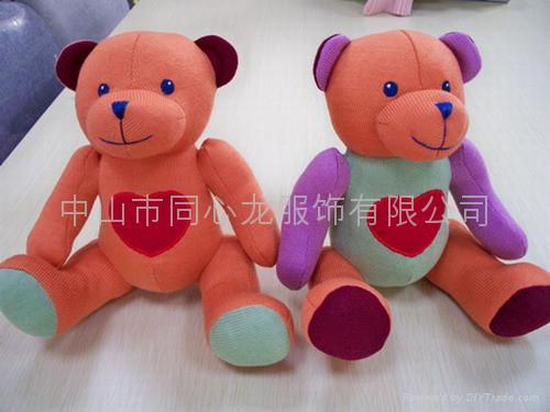 毛織玩具 1