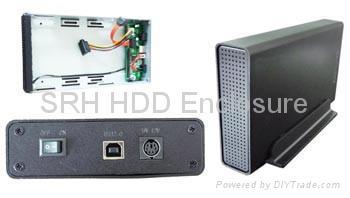 3.5inch HDD Enclosure for SATA/SATA+IDE/SATA to ESATA 3