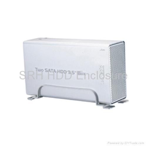 Dual SATA HDD Enclosure 1