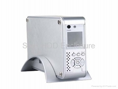 3.5inch HDD Player with LCD/FAN for SATA