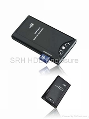 2.5inch HDD Media player with card reader