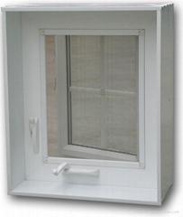 outward casement window with crank
