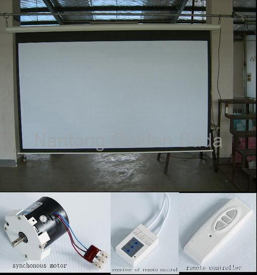 Electric Motorized Projector Screen 1 1 4 3 16 9 Oem