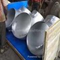 carbon steel buttweld pipe fittings elbow tee reducer cap bend flange 4