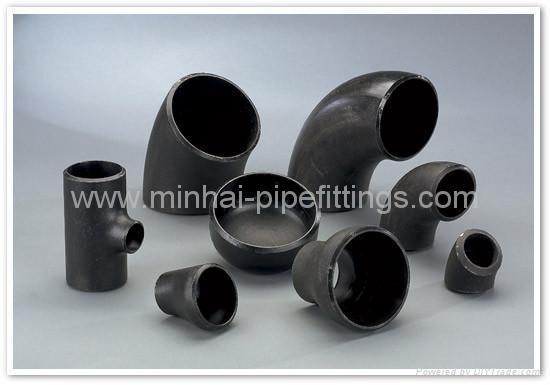 cs buttweld pipe fittings elbow tee reducer cap bend flange 4