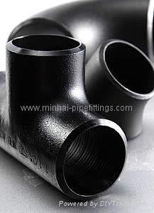 cs buttweld pipe fittings elbow tee reducer cap bend flange 5