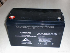 VRLA battery 12V100AH Jiangsu Yonder Battery