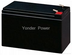 12V8AH 7AH yonder battery lead acid battery