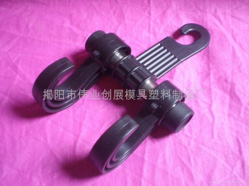 車內多功能勾進化款(Heavy Duty Seat Hook 1