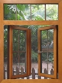 solid wooden window 1