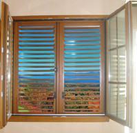 solid wooden window 3