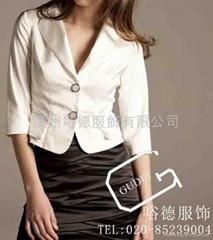 量身定做广州职业装西装