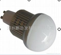 6W大功率LED球泡燈