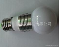 E27/3W大功率LED球泡燈
