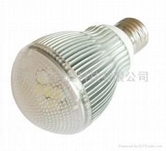 5W大功率LED球泡燈