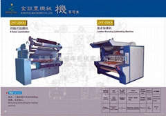 Leather Bronzing Machine